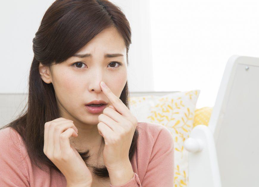 ブツブツで治らない!気になるいちご鼻を改善する方法を紹介