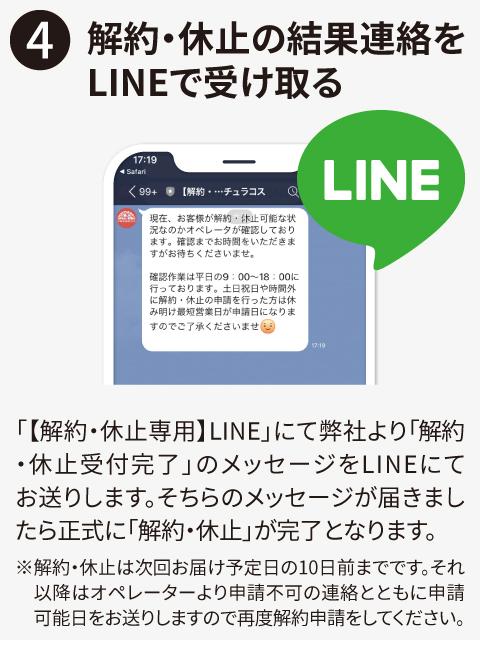 LINE解約フロー画像06